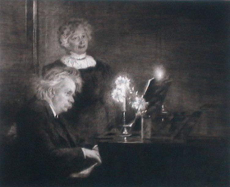 Maleri av Krøyer