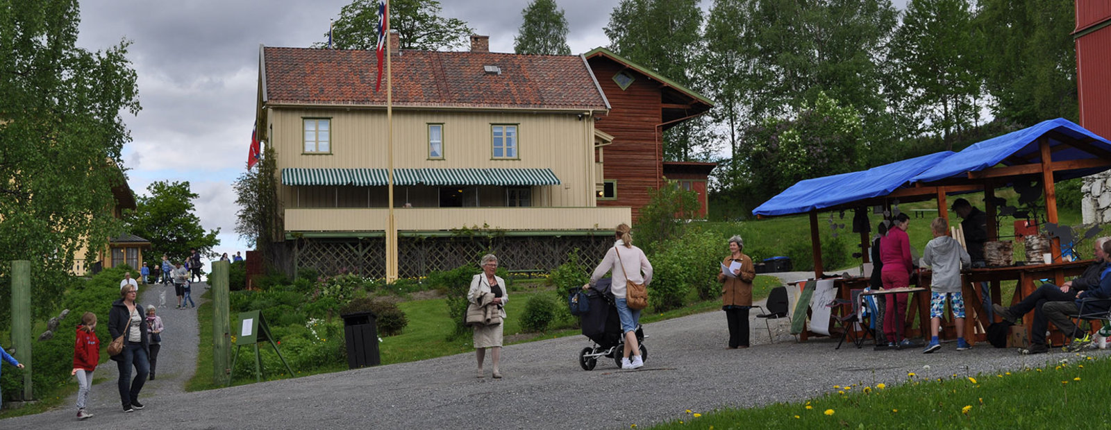 Familiedag på Aulestad Bjørnstjerne Bjørnsons hjem, i samarbeid med venneforeningen