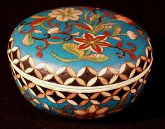 Krukke fra Aulestad Bjørnstjerne Bjørnsons hjem. Den ble brukt til oppbevaring av sukkertøy til barnebarna