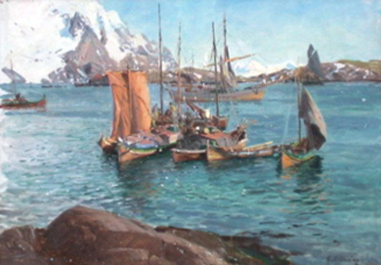 Maleri av Even Ulving