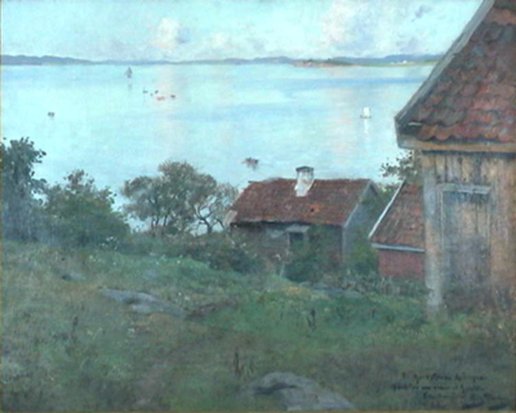 Maleri av Fritz Thaulow