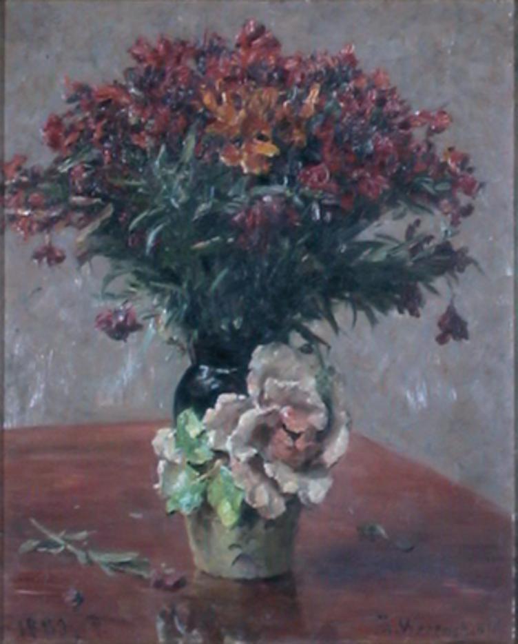 Maleri av Erik Werenskiold